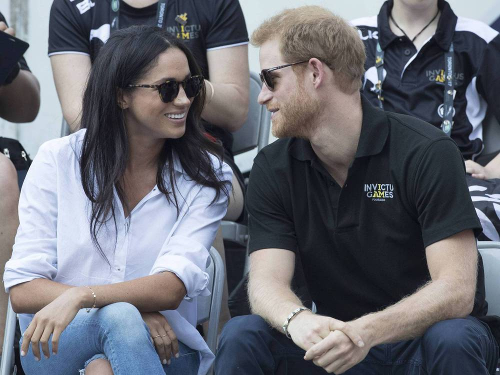 Endlich: Das erste gemeinsame Foto von Prinz Harry und seiner Meghan