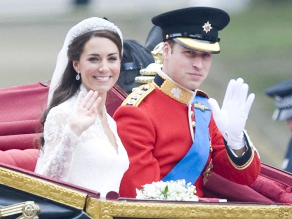 Die Lovestory von Prinz William und seiner Kate