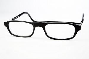 magneet leesbril classic zwart. van Spunx. klikbril met magneetsluiting. magneetbril