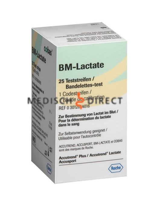BM-LACTATE STRIPS (25st)