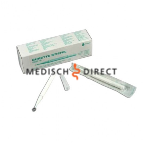 STIEFEL RING-CURETTE 4mm STERIEL DISPOSABLE