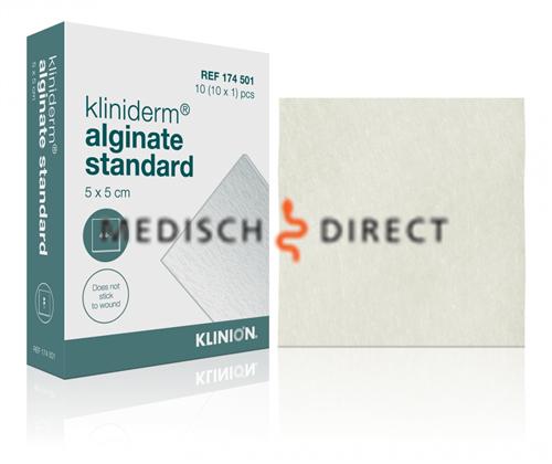 KLINION ADVANCED KLINIDERM ALGINATE STANDARD (5x5cm) STERIEL (REF.174501)