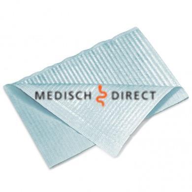DENTAL PROFESSIONAL TOWELS LICHTBLAUW (doos à 500st)