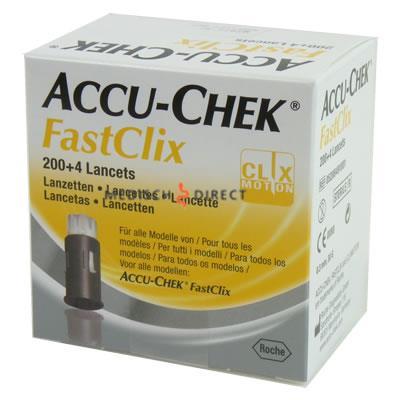ACCU-CHEK FASTCLIX LANCETTEN (204st)