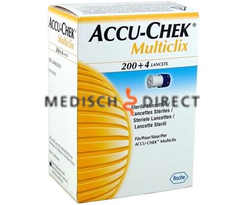 ACCU-CHEK MULTICLIX LANCETTEN (204st)