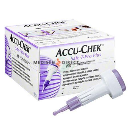 ACCU-CHEK SAFE-T-PRO-PLUS LANCETTEN (200st)