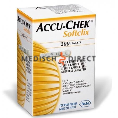 ACCU-CHEK SOFTCLIX LANCETTEN (200st)