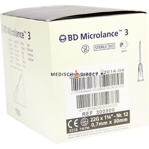 MICROLANCE NAALDEN 0,70 x 30mm ( 22G x 1,25 ) (100st)