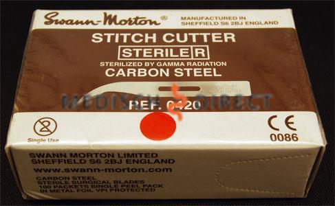 STITCH-CUTTERS SWANN MORTON STERIEL (100st)