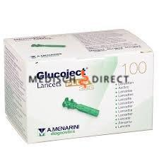 GLUCOJECT PLUS LANCETTEN 33G (100st)