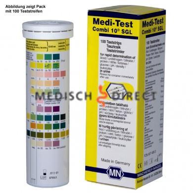 MEDITEST COMBI 10L TESTSTRIPS (100st)