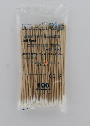 WATTENSTAAFJES + TIP 15cm (100st)