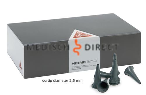 HEINE STANDAARD OTOSCOOPTIPS 2,5mm (50st)