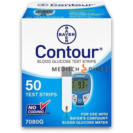 BAYERS CONTOUR TESTSTRIPS (50st)