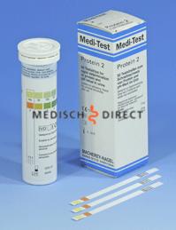 MEDITEST PROTEIN-2 TESTSTRIPS (50st)