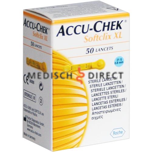 ACCU-CHEK SOFTCLIX XL LANCETTEN (50st)