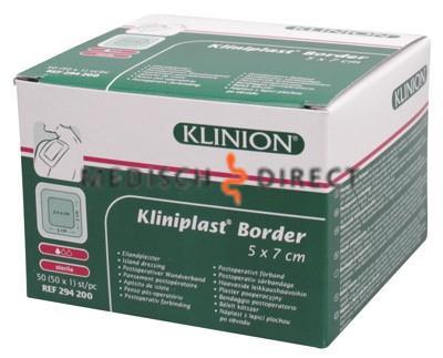 KLINIPLAST  BORDER 8 x 10cm 294201 (50st)