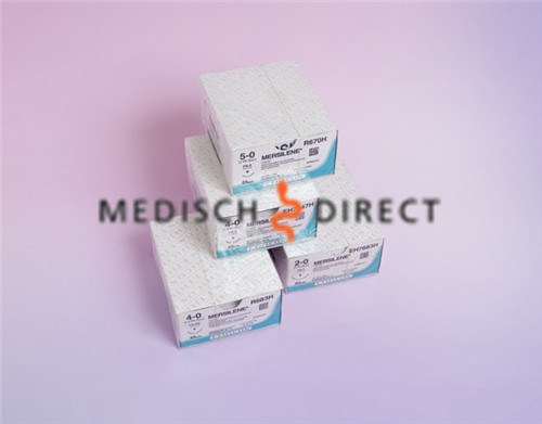 ETHICON MERSILENE FS-2 NAALD 4/0 EH7147H  (36st)