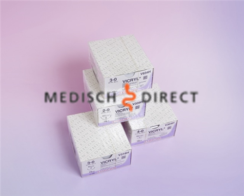 ETHICON VICRYL PLUS CT-1+ NAALD 2/0 VCP339H  (36st)