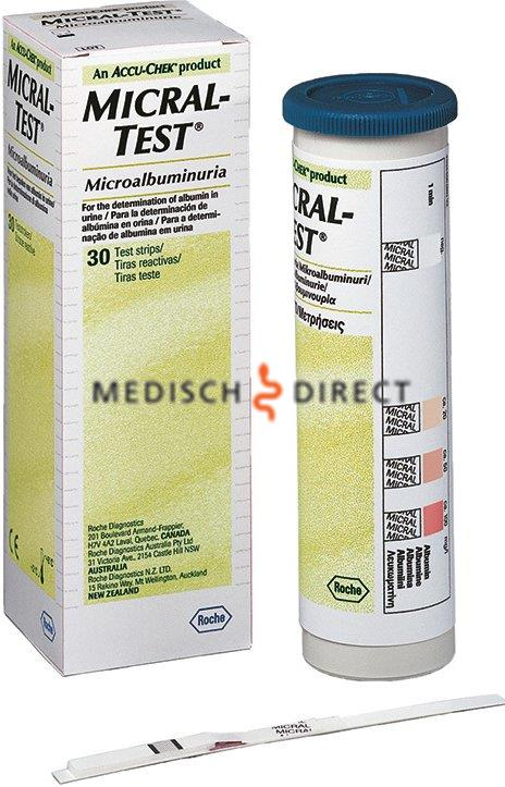 MICRAL-II TESTSTRIPS (30st)