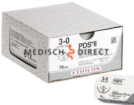 ETHICON PDS II FS-2S NAALD 4/0 Z422E (24st)