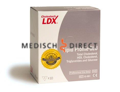 CHOLESTECH LDX LIPID PROFILE KIT + GLUCOSE