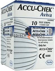 Accu-Chek Aviva IFCC Plasma teststrips p/10
