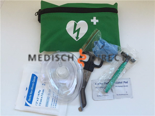 AED RESCUE KIT COMPLEET