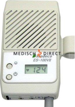 HADECO ES100V2 DOPPLER + 2Mhz WATERPROOF PROBE MET ETUI