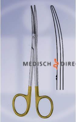 METZENBAUM PREPAREERSCHAAR TC GEBOGEN STOM(1st)OMP 18cm