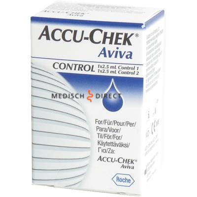 Accu-chek Aviva controlevloeistof