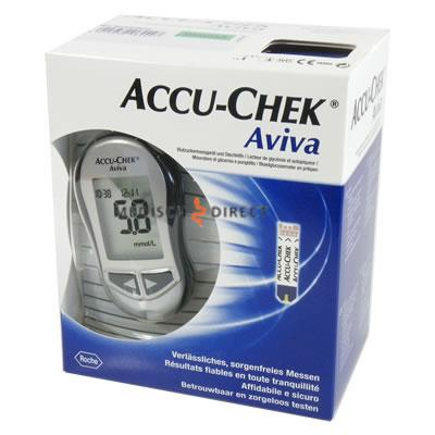 ACCU-CHEK AVIVA STARTPAKKET INCLUSIEF 10 STRIPS