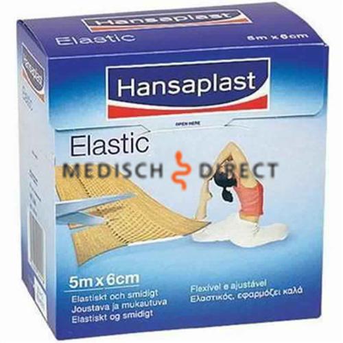 HANSAPLAST ELASTISCH WONDPLEISTER 5m x 6cm
