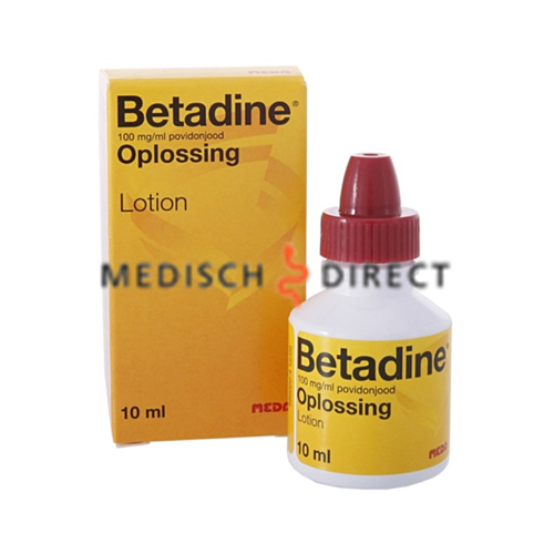 BETADINE OPLOSSING 15ml FLACON