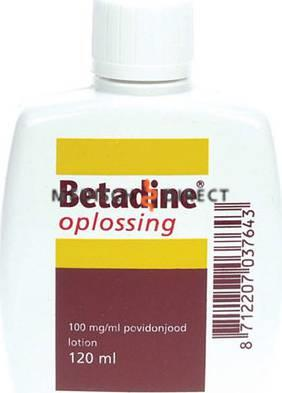 BETADINE OPLOSSING 120ml FLACON
