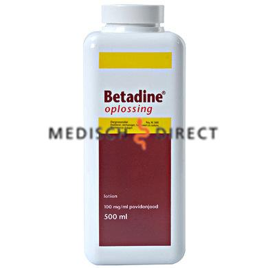BETADINE OPLOSSING 500ml FLACON