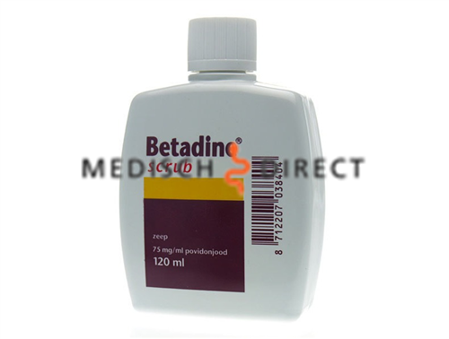 BETADINE SCRUB 120ml FLACON