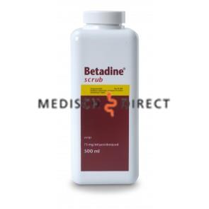 BETADINE SCRUB 500ml FLACON