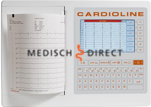 CARDIOLINE ECG 200S ELEKTROCARDIOGRAAF MET INTERPRETATIESOFTWARE