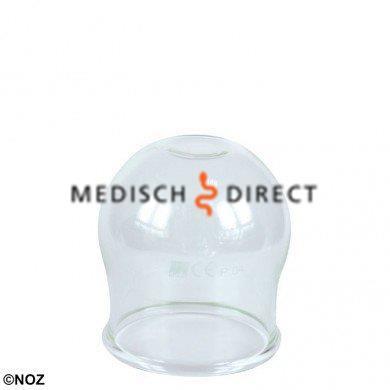 CUPPING GLAS ZONDER BALLON MAAT 5, DIAMETER CA. 6,0cm
