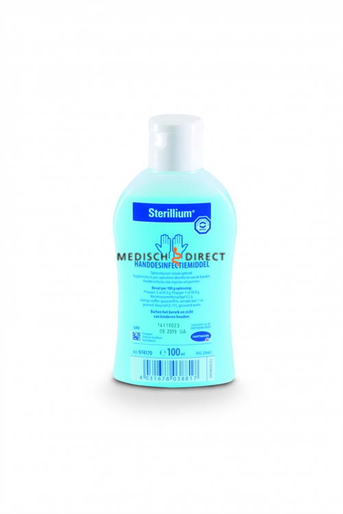 Bode Sterillium Med 100ml handalcohol op basis van ethanol