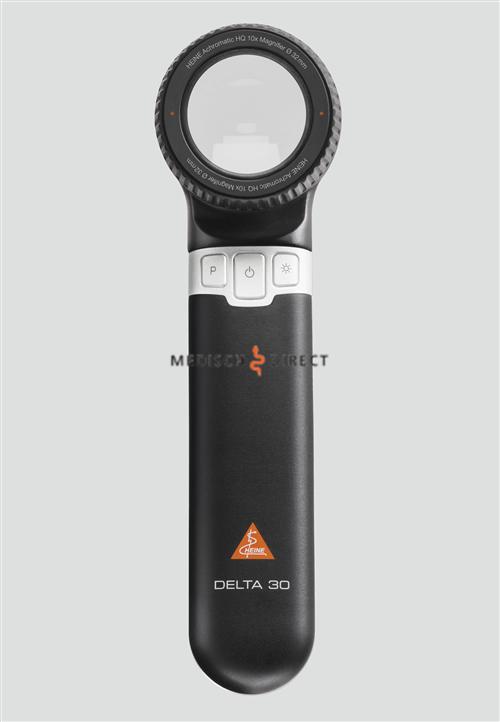 HEINE DELTA 30 DERMATOSCOOP MET USB-KABEL, ADAPTER EN ETUI
