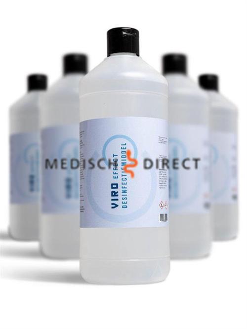 Handdesinfectans 1000ml druppelfles 0,6% natriumhypochloriet