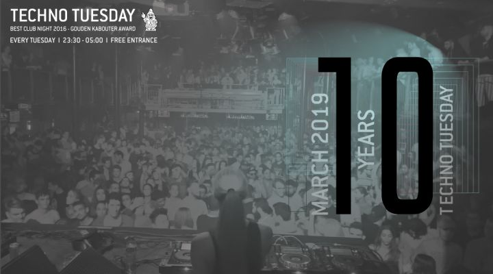 Techno Tuesday 10 Year Anniversary: RanchaTek e.a.