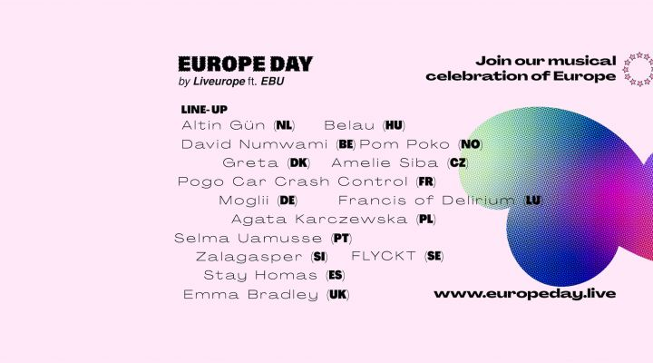 Europe Day by Liveurope ft EBU