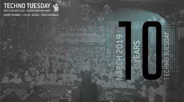 Techno Tuesday 10 Year Anniversary: Alberto Ruiz