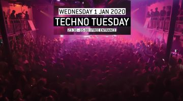 Techno Tuesday: Tina V (NO)