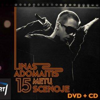 15 Metų Scenoje (CD + DVD)