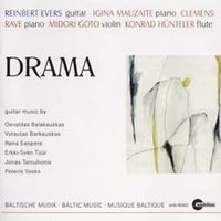 Drama. Baltic Music for Guitar
