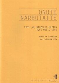 1981-ųjų birželio muzika